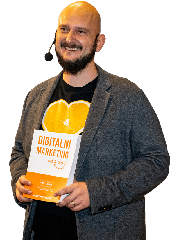 Martin Korošec knjiga Digitalni marketing od A do Ž